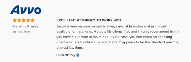 Attorney Jacob O. Partieyli is an Excellent Lawyer to work with