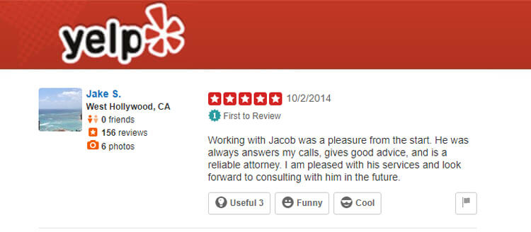 Landlord and Tenant Attorney Jacob O. Partieyli West Hollywood